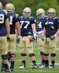 Notre Dame's Matt Hegarty has stroke from Holes in Heart