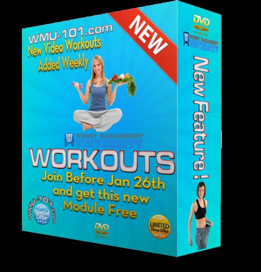 Weight Management University Workouts
